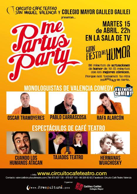 Colegio Mayor Valencia me-partus-party