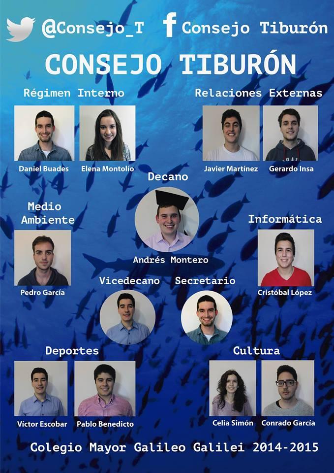 Colegio Mayor valencia Consejo Tiburón