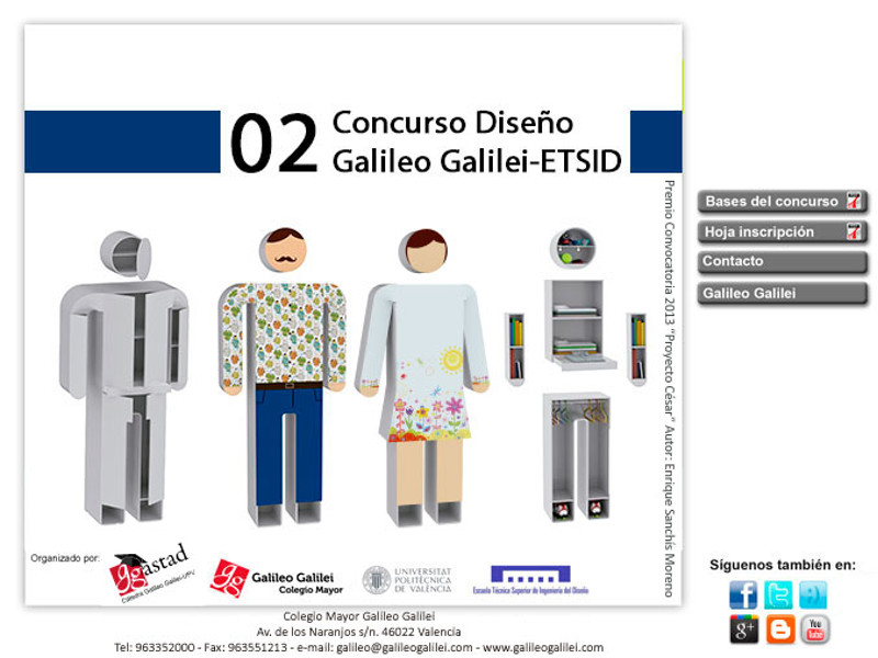 concurso diseño Colegio Mayor Valencia