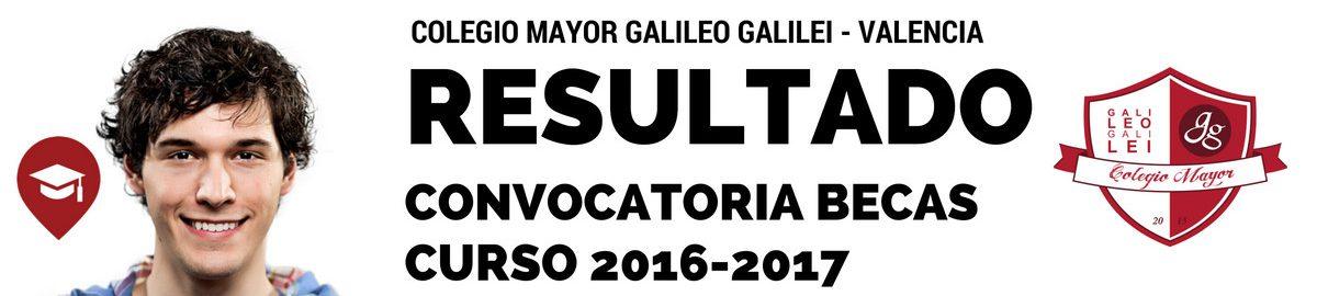 ESULTADO CONVOCATORIA BECAS GALILEO 2016-2017