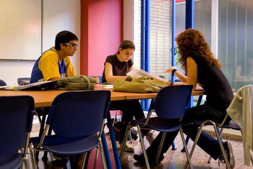 Aulas G Colegio Mayor Valencia