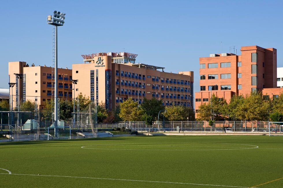 Tranquilidad Colegio Mayor Valencia Galileo Galilei, en pleno campus Universitario UPV