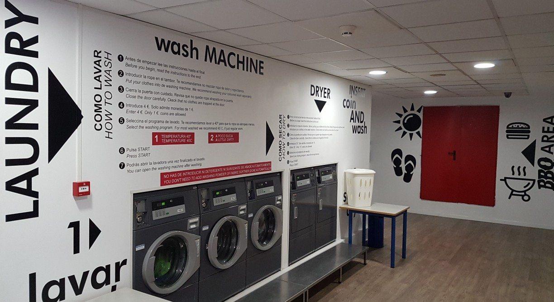 autoservicio lavandería colegio mayor valencia