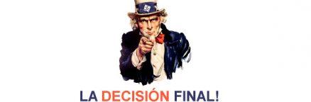 LA DECISION FINAL EN EL COLEGIO MAYOR GALILEO GALILEI