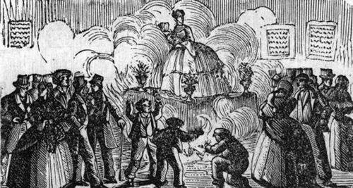 Fallas de Valencia 1860