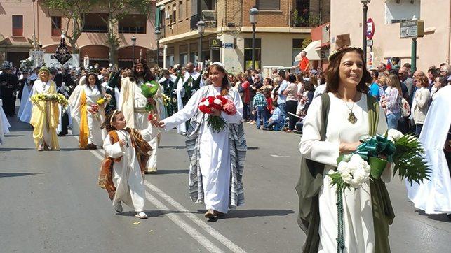 Desfile resurrección semana santa valencia