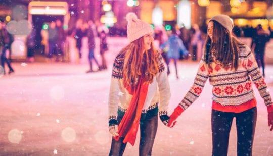 chicas navidad