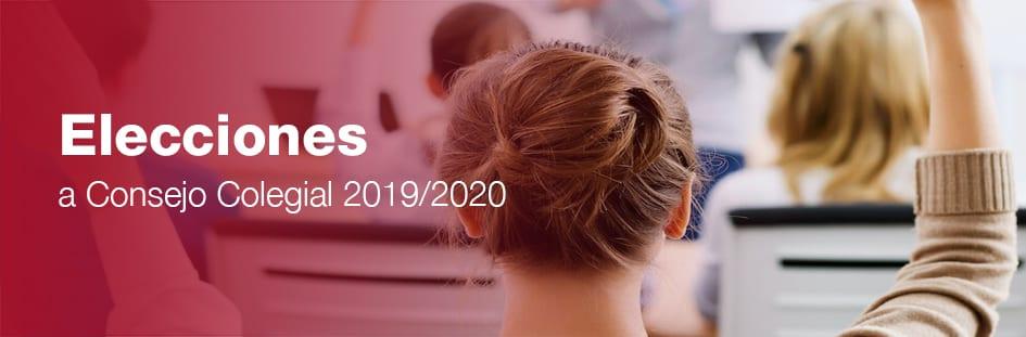 Elecciones consejo galileo galilei 2019/2020